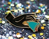 A Cup In The Hand — Soft Enamel Lapel Pin