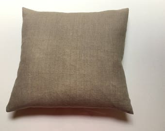 Linen decorative cushion cover, Natural Linen Home Decor, Natural Flax, Linen cushion cover, Linen sofa pillow cover