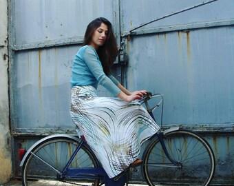 """Flared skirt """"Fleur de coton"""""""