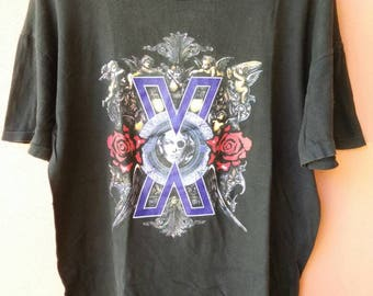 Vintage X Japan Violence of Jealousy Tour T Shirt Rare