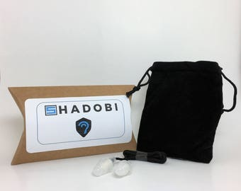 Shadobi Sounds High Fidelity Ear Plugs with Acoustic Filters - Noise Cancelling For Concerts, Motorcycles, and Musicians
