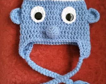 Smurf Crochet Hat Pattern