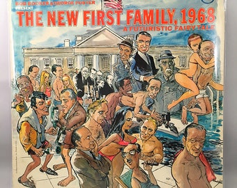 The New First FAMILY Bob Booker George Foster 1968 LP Vinyl Record VERVE V-15054