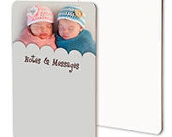 """Personalized Full Color Dry Erase Message Board - 8"""" x 10"""""""