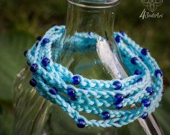 Blue Full Moon Bracelet