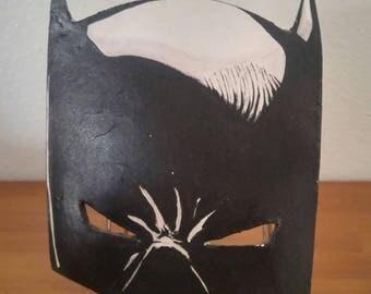 Superhero mask decoration