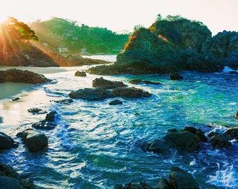 Dawn annex Los Muertos Beach