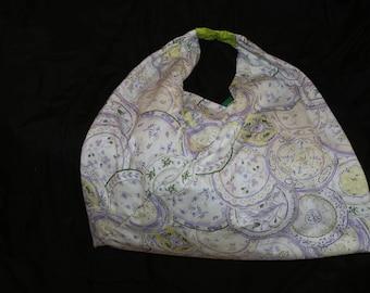 Floral Origami Bento Bag