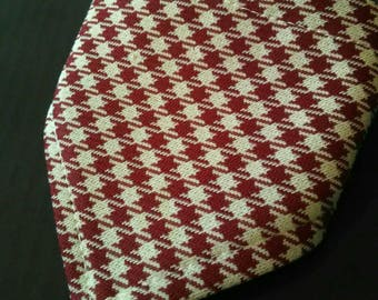 XXS Red Houndstooth Bandana