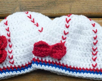 Crochet Baseball Hat