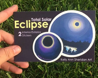 Solar Eclipse Sitckers
