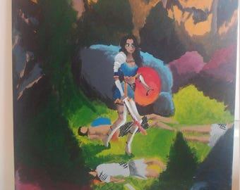 "Painting ""Slay the Patriarchy"""