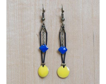 Electro earrings