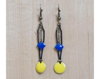 Electro earrings