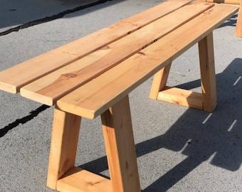 Handmade Custom Seating Indoor/Outdoor Bench