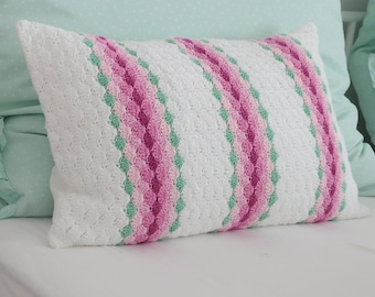 """Crocheted pillow """"Laura"""""""