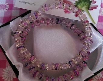 Swarovski crystal bracelet set