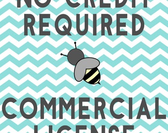 SALE- ONE SET- No Credit Required Commercial License
