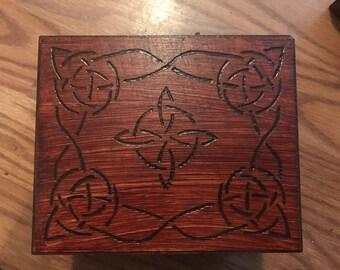 Small celtic box