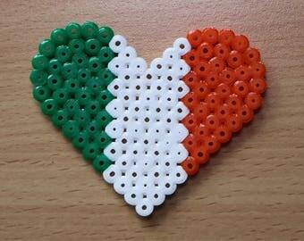 Irish Flag Heart