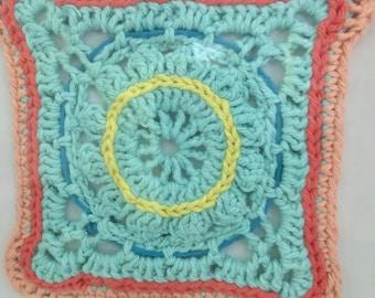 Framed Crochet (granny square)