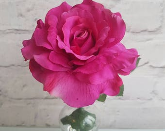 Country rose vase