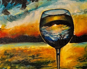 Still life Painting- Looking Through a Glass