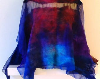 Prairie Sky, 36 by 45 inches, 12 inch neckhole
