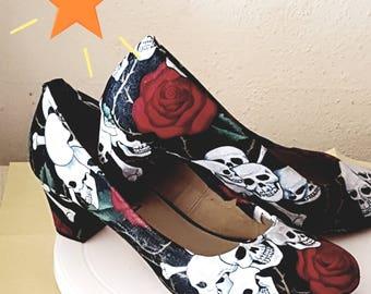 custom shoes- many fabrics available