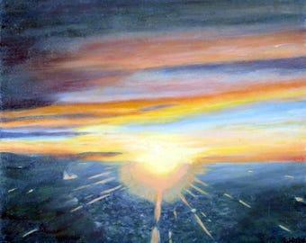Heaven's sunrise
