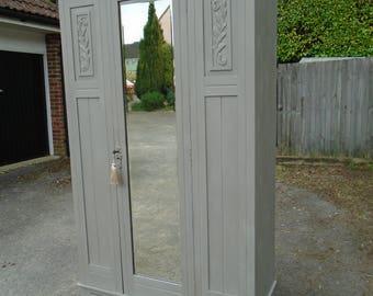 Victorian/Edwardian hall cupboard/armoire
