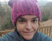 Knit Pussy Hat x2