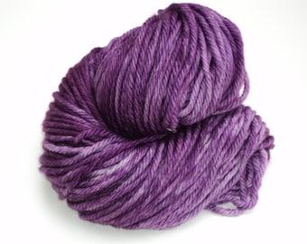Purple Pizzaz, Hand Dyed, Bulky, Yarn, Purple