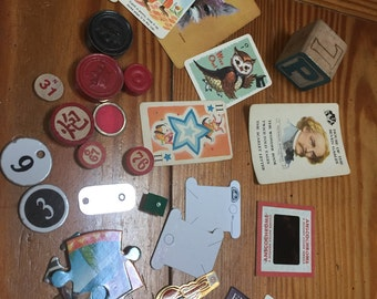 Miscellaneous trinket objects for embellishing