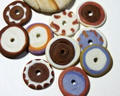 Lampwork Beads DISCS IV Two Sisters Designs 020517H