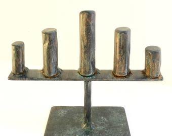 Ring Display - Artisan Steel -RD5 - 6w x 5.5h x 3d in.