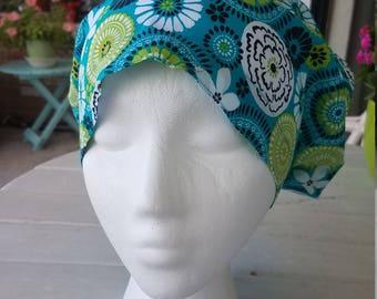 Seaside Susie Hattie  Style...............Surgical Hat....Bakers Hat