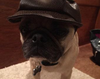 Small dog newsboy cap (hat)