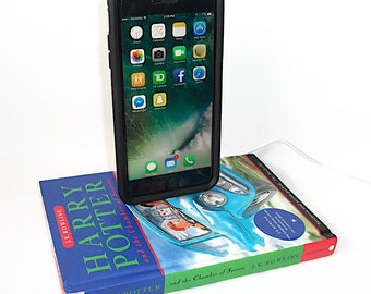 IPhone 5, 6, or 7  Charging Dock, Harry Potter Chamber of Secrets Book, Docking Charger Station