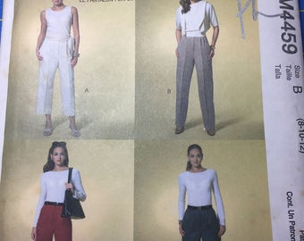 McCall's perfect trousers M4459 pattern misses size B uncut designed by Palmer/Pletsch