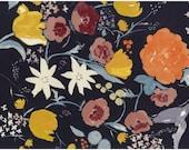 Nani Iro Kokka Japanese Fabric Fuccra : rakuen sateen - marjorca - 50cm