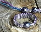 DNA Bracelet and 2 Ring Set Custom Order Pick up Size 7.5 Hypoallergenic