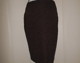 35% off SALE 80s St John Skirt Pencil Skirt - Vintage 80s   size 6          made in USA
