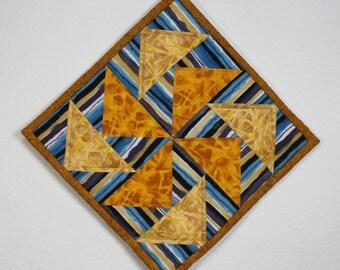 Quilted Potholder/Kitchen Quilt