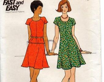 Butterick 3780 Misses Dress,Top & Skirt Size 12 Uncut Pattern