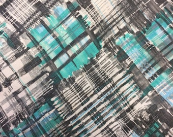 MOD vintage upholstery fabric groovy decor fabric abstract fabric