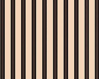Quilting Treasures, Letters from the Heart, Stripes on Black, yard