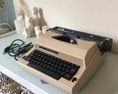Sears working electric portable typewriter The Communicator original case instructions owners manual Roebuck