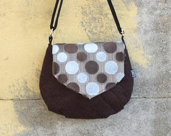 Ghianda IN SALDO bag | Small bag | Crossbody bag | Interchangeable flap | Magnetic closure | AI201617