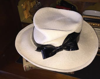 Vintage Don Anderson New York Straw Hat
